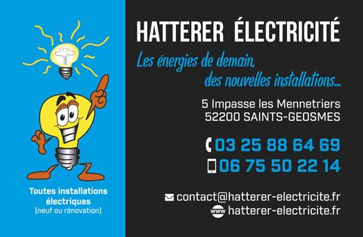 électricien certifié et diplômé Langres et Haute-Marne, Hatterer électricité