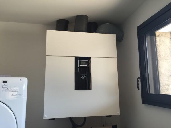 installation double flux contrôlée en domotique près de langres par Hatterer électricité