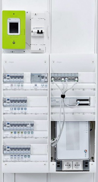 Tableau électrique Hager installé par Hatterer électricité Haute Marne langres